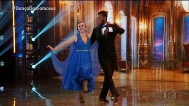 Guta Stresser e Jefferson Bilisco dançam 'You Make Me Feel So Young' - Confira