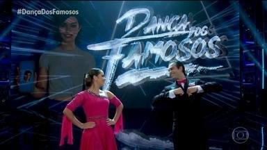 Giullia Buscacio e Danniel Navarro se apresentam ao som de 'Aint That Kick In The Head' - Confira