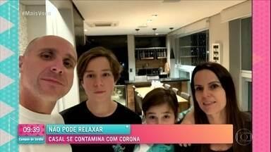 Não pode relaxar: Casal se contamina com Corona - Festa causou contaminação