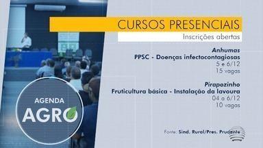 Sindicato rural de Presidente Prudente retoma cursos presenciais - Desde o início da pandemia eles estavam suspensos.