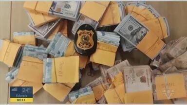 PF prende cinco pessoas em ação contra lavagem de dinheiro - Segundo a Polícia Federal, prisões foram resultado de uma investigação sobre crimes contra o Sistema Financeiro Nacional e de lavagem de dinheiro.