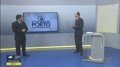 Seminário trouxe novidades sobre investimentos no Porto de Santos - Jornalista Leopoldo Figueiredo falou sobre os anúncios e outras notícias do setor.
