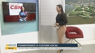 CBN Amazônia: editais de cultura ofertam até R$ 30 mil para quase 700 projetos no estado - Recursos são da Lei Aldir Blanc e busca compensar setor pelas perdas decorrentes da pandemia. Iniciativas podem ser de diversos segmentos.