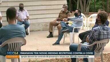 COE de Paranavaí adota medidas mais restritivas - Entre as medidas, o controle de pessoas em igrejas da cidade.