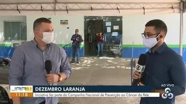 Dezembro Laranja é parte da Campanha Nacional de Prevenção ao Câncer da Pele - Dezembro Laranja.
