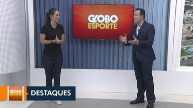 Veja a participação do Globo esporte no JRR 1ª edição - Saiba quais são os destaques do mundo esportivo.