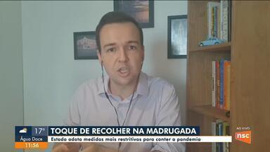 Ânderson Silva comenta sobre o decreto que impõe toque de recolher em Santa Catarina - Ânderson Silva comenta sobre o decreto que impõe toque de recolher em Santa Catarina