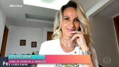 Fernanda elimina o primeiro candidato - Titto lamenta não ter tido a oportunidade de conversar por vídeo com a solteira