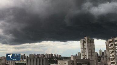 Veja a previsão do tempo para esta quinta-feira (10) na região de Ribeirão Preto - Umidade da Amazônia provoca áreas de instabilidade.