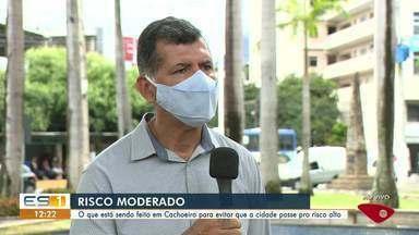 Prefeitura de Cachoeiro, ES, adota medidas para que não chegue ao risco alto para a Covid - Assista.