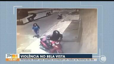 Violência: moradores do Bela Vista reclamam de assaltos - Violência: moradores do Bela Vista reclamam de assaltos