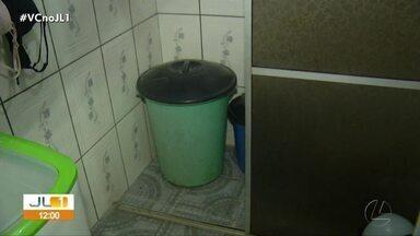 Moradores denunciam abastecimento irregular de água nas residências do bairro da Pedreira - Moradores denunciam abastecimento irregular de água nas residências do bairro da Pedreira