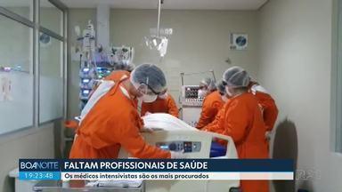 Faltam profissionais de saúde no Paraná - A secretaria estadual de Saúde, prefeitos e diretores de hospitais estão com dificuldade para fazer contratações.