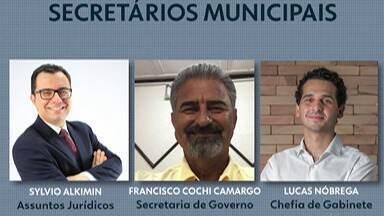 Prefeito eleito Caio Cunha anuncia mais secretários municipais - Novo governo já tem titulares para as pastas de Assuntos Jurídicos e de Governo. Ele também divulgou o nome do chefe de gabinete.