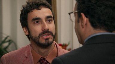 Leozinho chantageia Agilson - O pai de Camila se preocupa com a segurança da filha