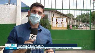 Aumento de casos de Covid-19 preocupa autoridades em Marabá - Aumento de casos de Covid-19 preocupa autoridades em Marabá