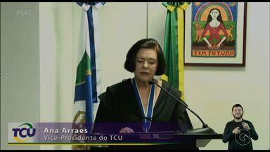 Pernambucana Ana Arraes tomou posse na presidência do Tribunal de Contas em Brasília - Ela vai substituir o também pernambucano José Múcio Monteiro.