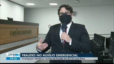 Operação da PF tem como alvo fraudadores do auxílio emergencial do Governo Federal - Na Paraíba, os mandados foram cumpridos em João Pessoa, Campina Grande e Patos.