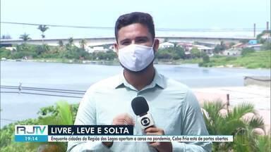 Perto da alta temporada e com aumento de casos, Cabo Frio continua sem barreira sanitária - Enquanto município não altera as regras da quarentena há meses, outras cidades da Região dos Lagos têm implementado medidas mais rígidas para combater a pandemia.
