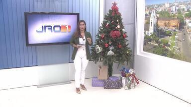 Confira a íntegra do JRO1 desta quinta-feira, 10 de Dezembro - Telejornal é apresentado por Yonara Werri.