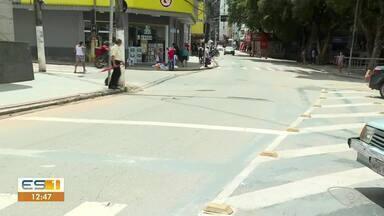 Cachoeiro de Itapemirim registra trânsito após interdição de via, no Sul do ES - Assista.