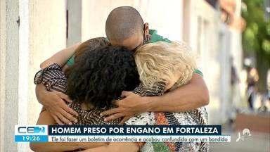 Homem é preso por engano em Fortaleza - Saiba mais no g1.com.br/ce