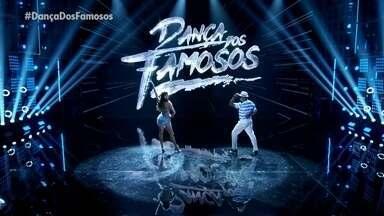 """Isabeli Fontana e Igor Maximiliano dançam """"Meu Ébano"""" - Samba é o ritmo desde domingo no Dança dos Famosos"""