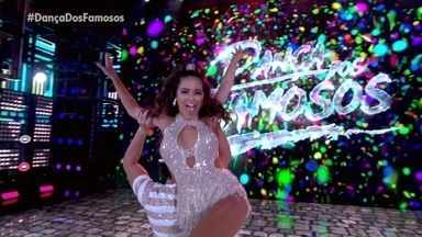 """Giullia Buscacio e Danniel Navarro dançam """"Brincadeira Tem Hora"""" - Samba é o ritmo desde domingo no Dança dos Famosos"""