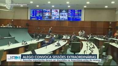 Alego discute falta de energia em fazendas de produtores de leite, em Goiás - Assembleia Legislativa de Goiás (Alego) convocou sessão extraordinária para discutir o assunto.