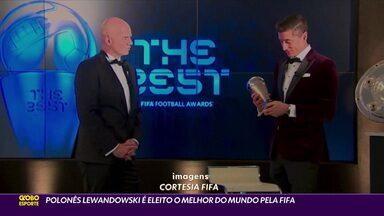 Polonês Lewandowski é eleito o melhor do mundo pela Fifa - Polonês Lewandowski é eleito o melhor do mundo pela Fifa