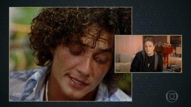 Fábio Jr se emociona ao falar da canção 'Pai' - Ator e cantor revê cena de 'Ciranda, Cirandinha' e conta a história da composiçãoda música em homenagem ao pai