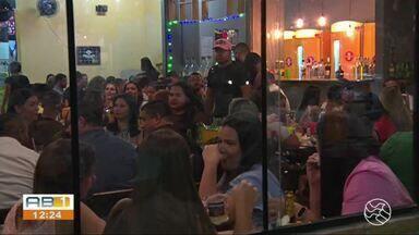 Fiscalização é realizada em bares e restaurantes de Caruaru - Objetivo é verificar medidas de combate à Covid-19