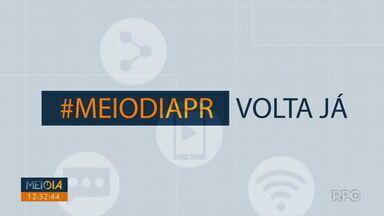 Telespectadores chamam o intervalo do Meio Dia Paraná - Para participar envie um vídeo para o número 99972-5178.