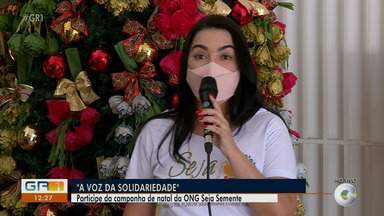 ONG 'Seja Semente' realiza campanha de natal em Petrolina - A repórter Aracelly Romão explica como contribuir.