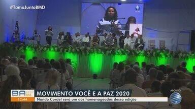 Movimento Você é a Paz faz encerramento da edição do ano neste sábado; veja - Evento idealizado pelo líder espírita Divaldo Franco acontece de forma online.