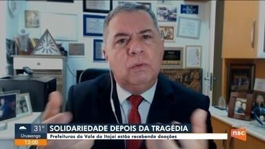 Prefeituras do Vale do Itajaí estão recebendo doações - Prefeituras do Vale do Itajaí estão recebendo doações