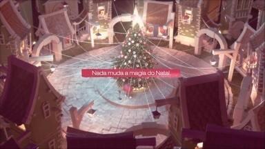 Nada muda a magia do Natal; assista ao vídeo - Confira o vídeo de Natal da RPC em 2020