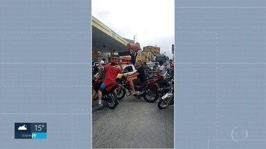 Moradores da capital reclamam do barulho provocado por grupos de motociclistas - O SP2 recebeu vídeos de moradores de várias regiões da capital.