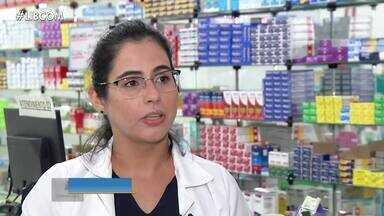 Pandemia da Covid-19 fez população esgotar medicamentos em farmácias no Pará - Pandemia da Covid-19 fez população esgotar medicamentos em farmácias no Pará