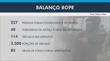 Bope do Amapá divulga resultados do trabalho realizado ao longo de 2020 - Bope do Amapá divulga resultados do trabalho realizado ao longo de 2020