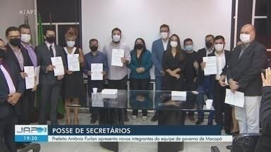 Executivo empossa mais 10 novos integrantes da equipe de governo de Macapá - Executivo empossa mais 10 novos integrantes da equipe de governo de Macapá