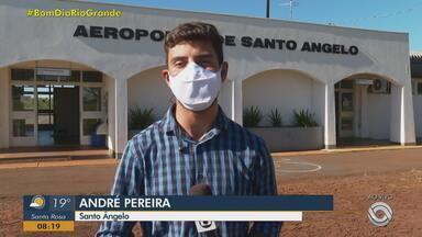 Obra de ampliação do aeroporto de Santo Ângelo deverá ficar pronta em 6 meses - Assista ao vídeo.