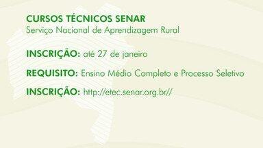 Oportunidade: Senar abre inscrições para cursos gratuitos de fruticultura e agronegócio - Saiba como concorrer a uma das vagas.
