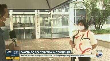 Araraquara cria comitê para planejar vacinação contra a Covid-19 - Secretária de Saúde da cidade explica os detalhes. Campanha em todo o estado de São Paulo deve começar no dia 25 de janeiro.