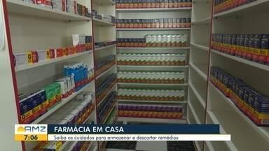 Uso de medicação em casa - Confira informações sobre a validade, automedicação e armazenamento.