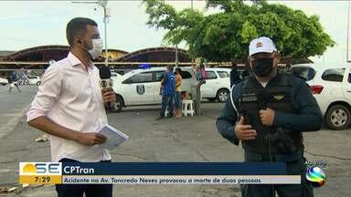 Quadro 'Mobilidade' destaca a mudança de sentido na Rodovia Inácio Barbosa - Quadro também mostra outros destaques do trânsito em Aracaju.