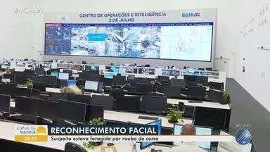 Secretaria de Segurança Pública faz balanço do uso do sistema de reconhecimento facial - Uma pessoa já foi presa este ano, com apoio desta tecnologia.