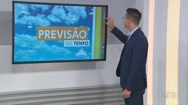 Confira a previsão do tempo para o começo da semana nos Campos Gerais - Semana começa com possibilidade de chuvas em Ponta Grossa.