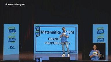 Maior Aulão de Goiás tem recorde de audiência e simulado preparatório para prova do Enem - Arquivo pode ser baixado no G1 Goiás.