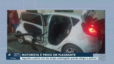 Motorista que atropelou policial militar paga fiança e deixa prisão - Motorista que atropelou policial militar paga fiança e deixa prisão.